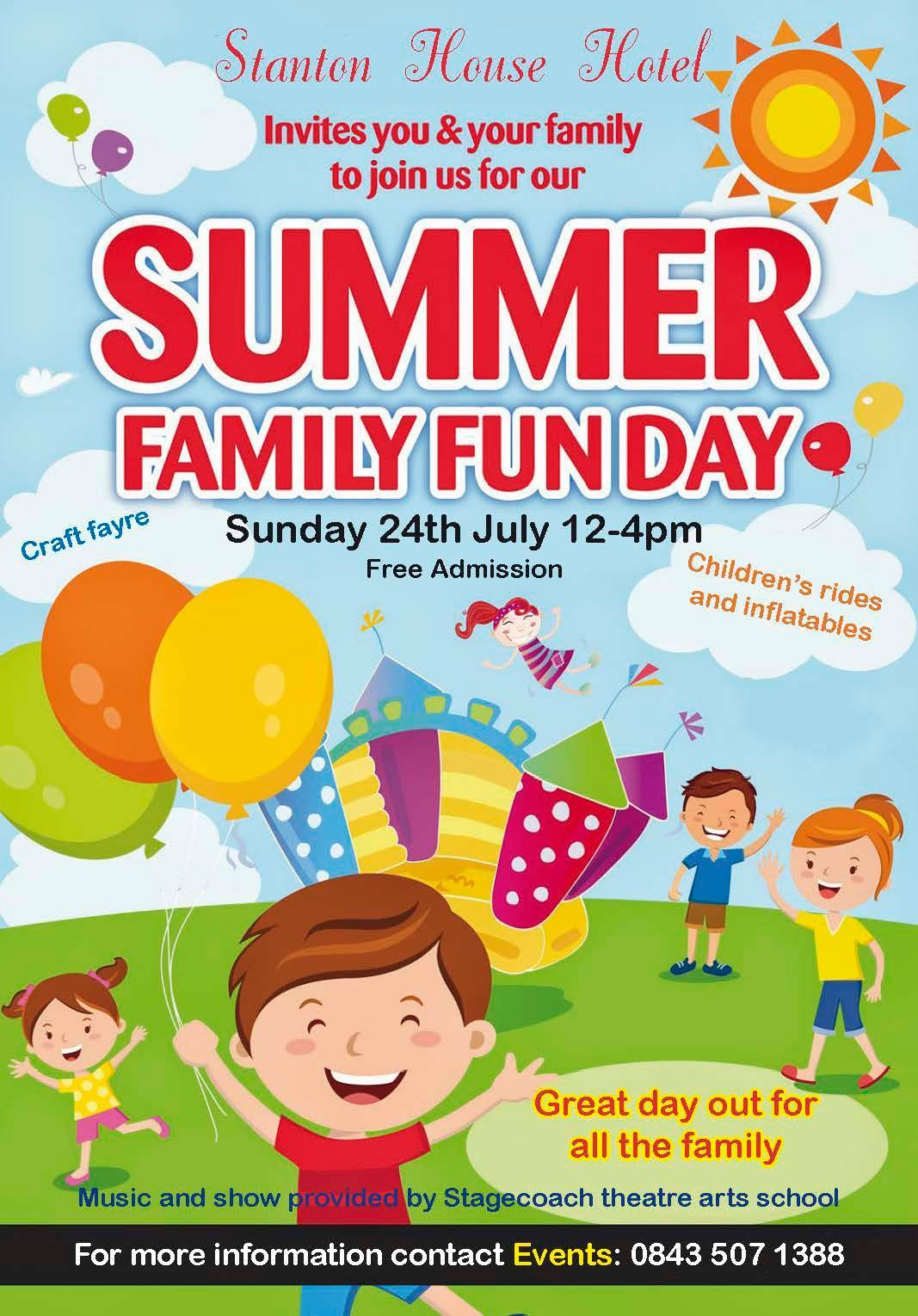Stanton House Hotel Summer Family Fun Day SNDogs